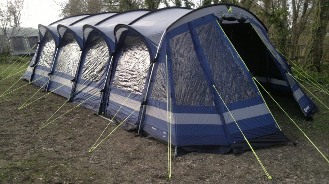 The Bahia 7 is from the new Superior range from Outwell. These tents as standard have amongst many other features Tinted Windows Night Sky Ceilings and ... & Outwell Tent Training