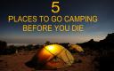Camping equipment, tents