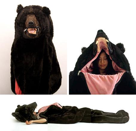 world of camping bear sleeping bag