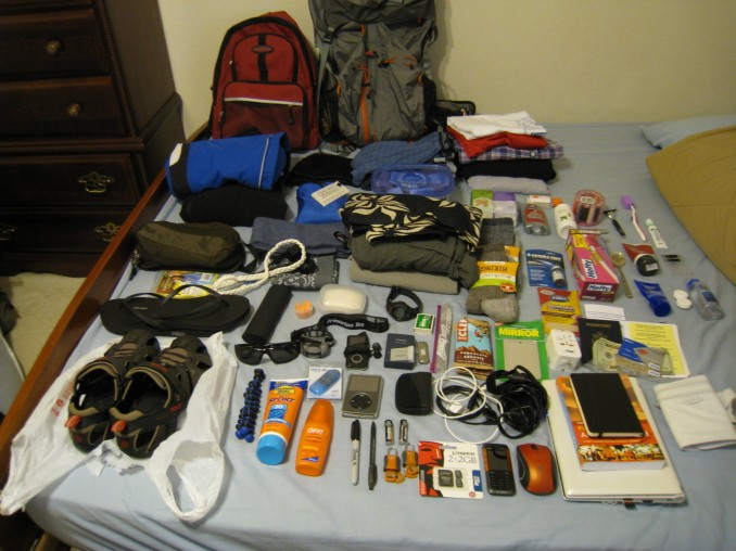 How to Pack your Backpack | World of Camping Blog