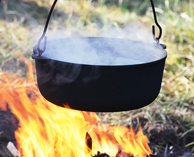 boil water for safe drinking water