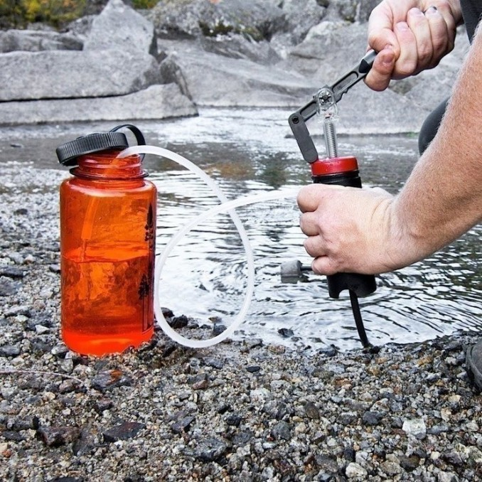 filtering water