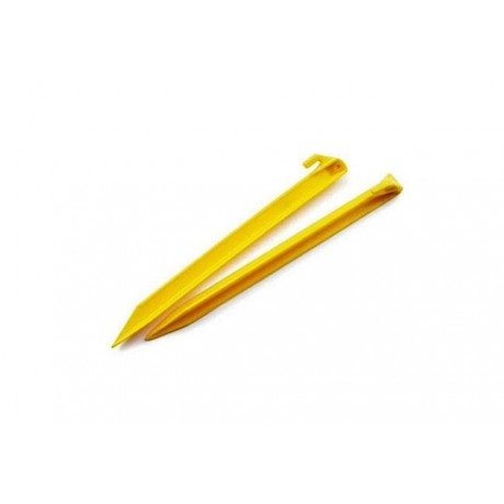 Gelert Yellow Plastic Pegs