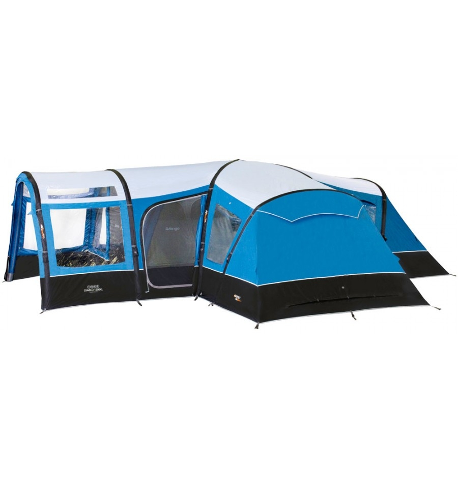 Vango Diablo 1200XL AirBeam Tent  sc 1 st  World of C&ing & 7 - 12 Man Tents | UK | World of Camping
