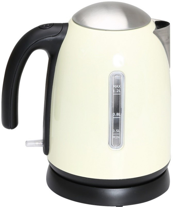Quest 1.2l low wattage kettle