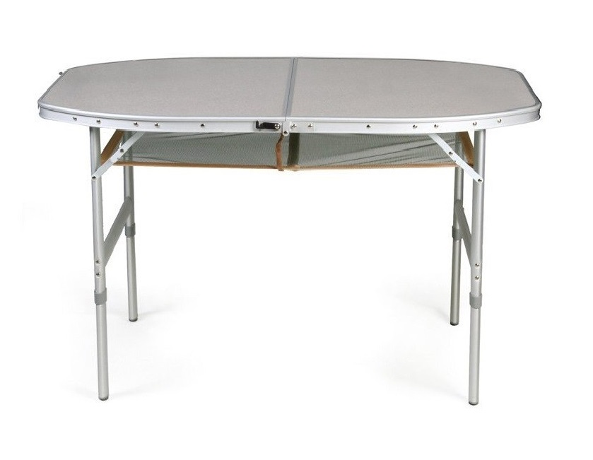 Round camping table