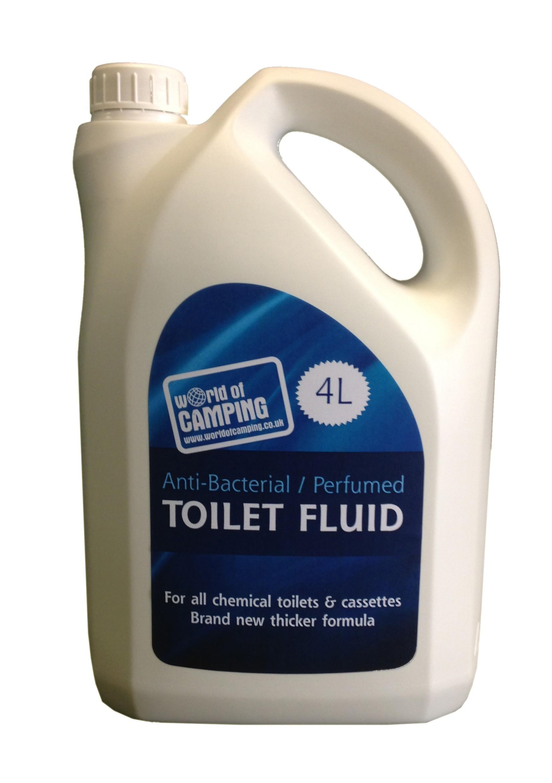 Woc Blue toilet fluid